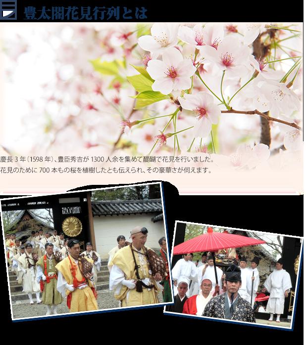 豊太閤花見行列とは